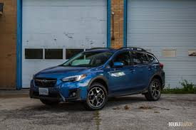 subaru crosstrek black wheels first drive 2018 subaru crosstrek doubleclutch ca