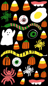 free cute halloween background spooky pattern tap to see more creatively spooky halloween
