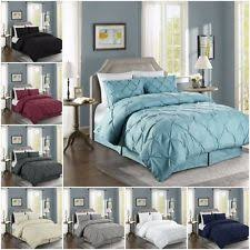 Pinched Duvet Cover Chezmoi Collection Duvet Covers And Bedding Set Ebay