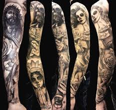 santa muerte mexican tattoo design photo 1 real photo pictures