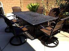 Aluminum Patio Tables Sale Fire Pit Patio Set Ebay