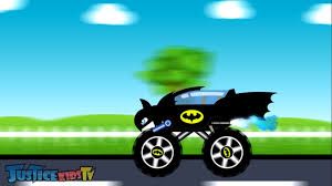 monster truck jam videos for kids batman truck vs joker truck trucks for kids video for kids