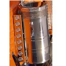 peterbilt air cleaner lights peterbilt 388 389 air cleaner light bars with fusion led lights