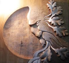 green wood carving řezbářství horský duch
