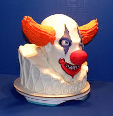 another cake from michelle u0027s cake designs llc evil clown cake