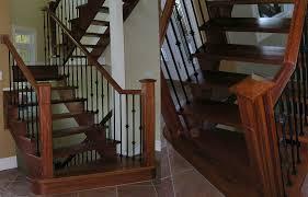 Stairs With Open Risers by Ottawa Stair Flooring Hardwood Open Riser Stairs Scott Berwick