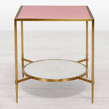 Kate Spade Vases Kate Spade New York Square Side Table Begonia Brass