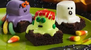 280 Best Halloween Recipes Images On Pinterest Halloween Recipe by Spooky Brownies Recipe Bettycrocker Com