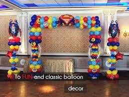 Home Decorators Union Nj by My Deco Balloon Balloon Decorations In New Jersey Balloon Decor Nj