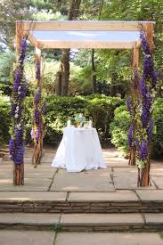 a purple and green wedding decor inspiration