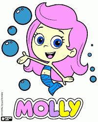 bubble guppies coloring pages arterey