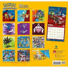 design wall calendar 2015 pokemon 2016 wall calendar 9781465039729 calendars com