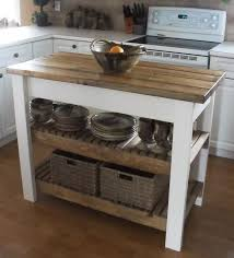 kitchen block island furniture old and vintage diy butcher block island table made