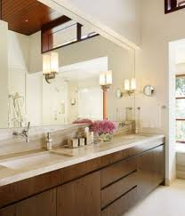 alluring bathroom mirror design ideas with contemporary bathroom