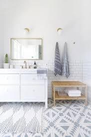 Ikea Hemnes Bathroom Vanity Ikea Hemnes Washstand With Ikea Molger Bench Transitional