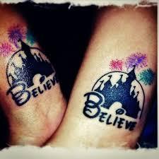 disney and believe tattoo tattoomagz