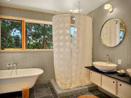 L Shape Curtain Rod L Shaped Shower Curtain Rod Bathroom Traditional With Ceiling