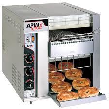 Extreme Toaster Apw Wyott Bt 15 3 Bagel Master Conveyor Toaster With 3