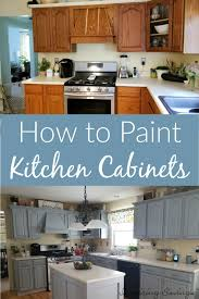 what is the best way to paint kitchen cupboards the best way to paint kitchen cabinets affordable update