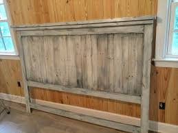 King Size Wooden Headboard Charming King Size Wood Headboard King Headboard Made Of Pallets