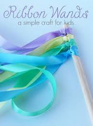 craft ribbon how to make ribbon wands a simple craft for kids the 123