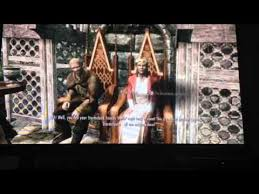 wedding dress skyrim killing vici taking wedding dress and getting