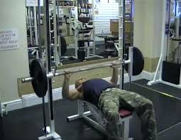 Proper Bench Form Lift To Burn Smith Machine Close Grip Bench Press Throw Muscle
