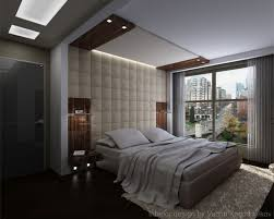 bed back wall design comfortable bedding unit with padded wall panel applied in