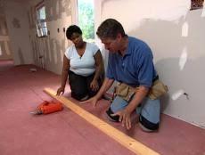 easy install bamboo flooring diy