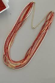 seed bead necklace clasp images Diy seed bead necklace design mom jpg