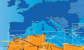 Map Of Benghazi Map Of Migration Routes Frontex Watch