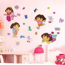 Decals For Walls Nursery by Dora Wall Sticker Art Decal Girls Room Decor Girls Room Nursery