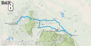 Sturgis Michigan Map by Vwvortex Com Mcbanagon U0027s 4 500 Mile Road Trip