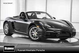 porsche convertible black buy or lease porsche 718 boxster in los angeles southern california