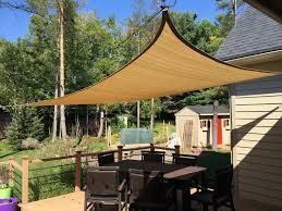 Sail Cover For Patio by Improve Your Backyard Install A Shade Sail