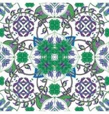 italian tiles vector images 690