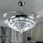 lighting ceiling fans with lights and remote lowes led crystal