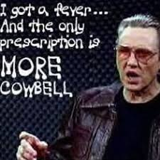 Christopher Walken Cowbell Meme - christopher walken quotes more cowbell image quotes at relatably com