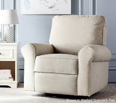 Comfortable Rocking Chairs For Nursery Comfort Swivel Glider Recliner Pottery Barn