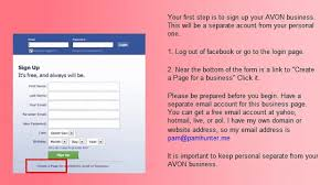 Hotmail Business Email Account by How To Put Your Avon Business On Facebook Video Dailymotion