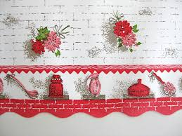 kitchen border ideas floral kitchen wallpaper border wide roll sale 50 s or