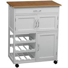 kitchen trolleys and islands buy kitchen trolley with bamboo top white at argos co uk your