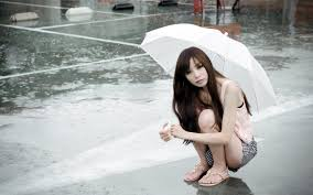 beautiful girls in rain desktop wallpapers u2013 one hd wallpaper