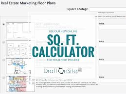 use our new sq ft calculator for your real estate floor plan