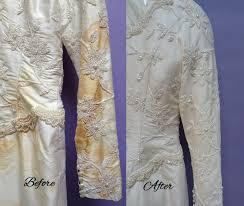 wedding dress restoration seamstress proulx preservation restoration