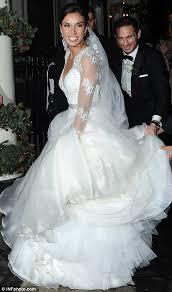 christine bleakley wears 10k dress to wedding to frank lampard in