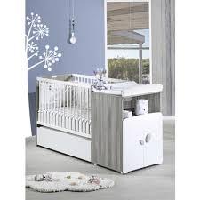 chambre bébé modulable lit bébé combiné 60 x120 cm évolutif en 90x190 cm calinou baby price