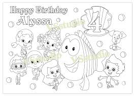 download coloring pages bubble guppies coloring pages bubble