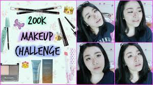 Challenge Tutorial 200k Makeup Challenge Makeup Tutorial Indonesia