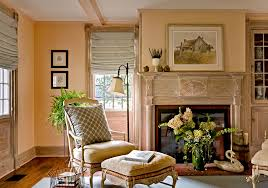 hobbled roman shades living room traditional with baseboards chair
